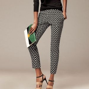 Banana Republic B&W Polka Dot Pants